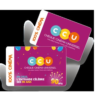 CCU une marque de l'Entraide du cinéma et des spectacles